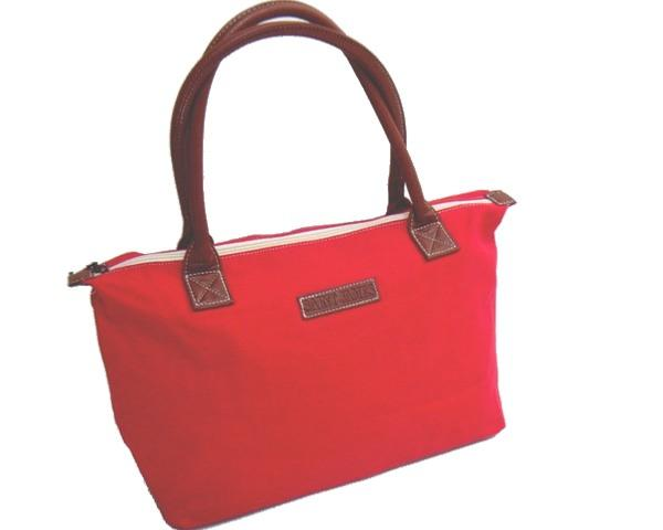 Sac Saint James toile rouge